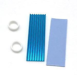 에버쿨 COOLMARKER 블루 M.2 방열판