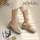 잭앤질 5cm 진주버클 펌프스(JC9505)