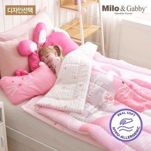 (현대Hmall) 밀로앤개비  유아 모달 차렵이불-코지 M size (디자인선택)