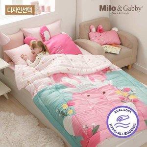 (현대Hmall) 밀로앤개비  유아 모달 차렵이불-코지 L size (튤립나라의 로라)