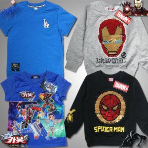 MLB 아이언맨 카봇 빠샤메카드 스파이더맨/티셔츠/옷