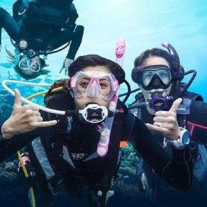 괌 비키니아일랜드 마린팩+스쿠버다이빙+사랑의절벽