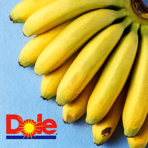 돌(Dole) 바나나 6kg내 (4송이) 중소과