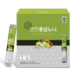 천제명 편한홍삼노니 스틱 10ml 30포 풍기홍삼 풍기