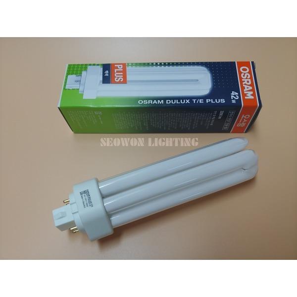 DULUX T/E 42W 840 백색 FTR42EX-W PLUS 삼파장 램프