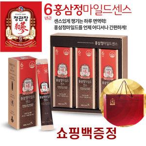 홈쇼핑1위/정관장/홍삼/마일드센스/에브리타임/사은품