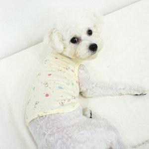 호나미네 강아지옷 고양이옷 오가닉 레빗 실내복