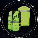 오토바이 형광조끼 DUHAN 4계절용 안전조끼D-012Q