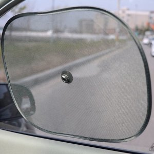 2P 차량용 흡착 햇빛가리개 햇빛차단기 차량용암막 차