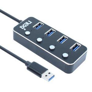 USB3.0 포트확장 분배 충전 4포트 개별스위치 허브 멀