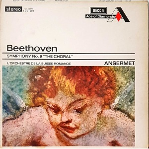 L4025- 클래식LP/ BEETHOVEN (교향곡 제9번 THE CHORAL)-스위스 로망드/ ANSERMET