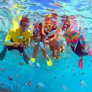 괌 피쉬아이 스노클링+해중전망대+점심