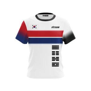 핏섬 남성 배드민턴 광복절 기념 티셔츠 FITSUM-01M