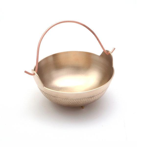 (kcj-88)샤브 냄비(중) /방짜유기/놋그릇/전골냄비