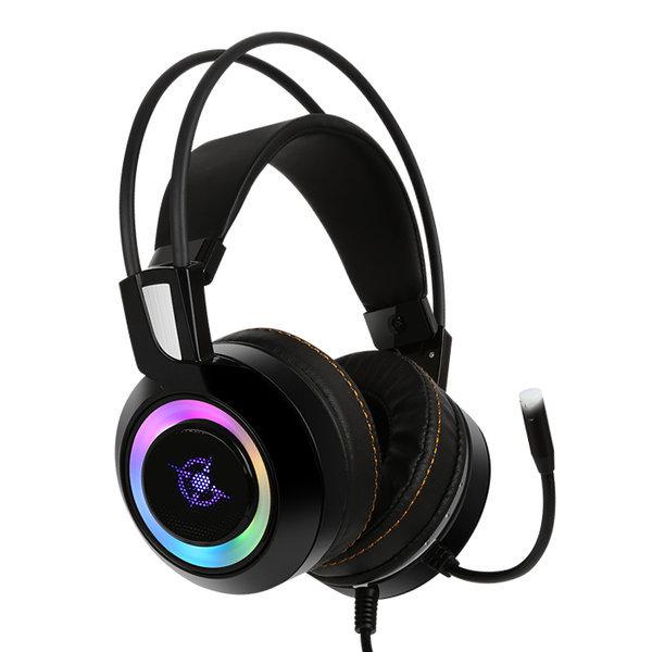 CH50 가상 7.1 진동 RGB LED 게이밍헤드셋 블랙 사은품