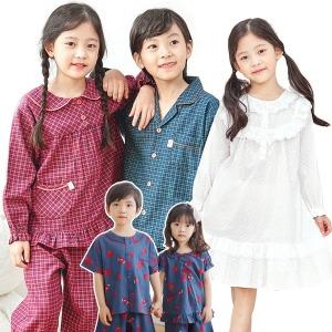 국산 아동 유아 가을 잠옷 실내복 파자마 긴팔 아기
