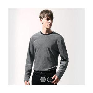 남성 스트라이프 긴팔 티셔츠 10029903(갤러리아)