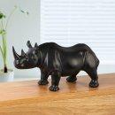 (아트피플-A356)코뿔소 인테리어 조각상 카페장식품