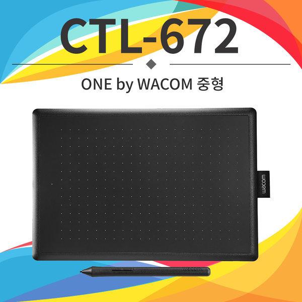 CTL-672 중형 웹툰 타블렛 입문자용