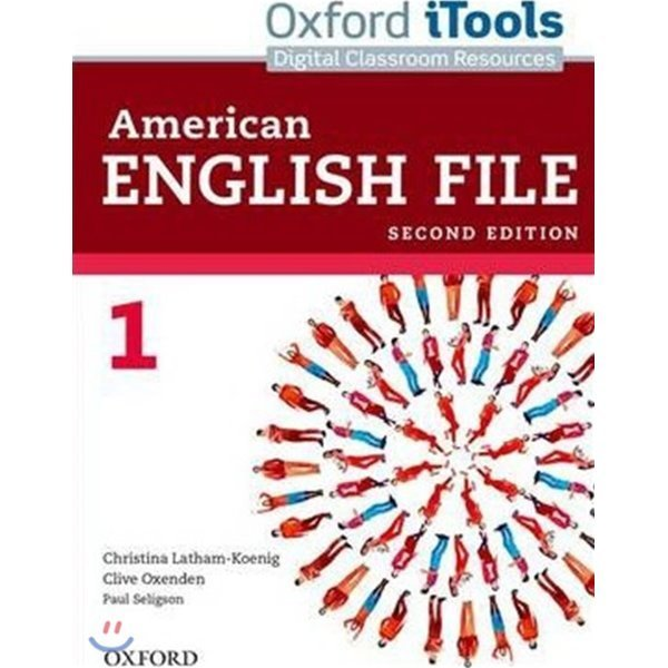 American English File 1 : iTools  Latham-koenig  Christina  Oxenden  Clive  Seligson  Paul