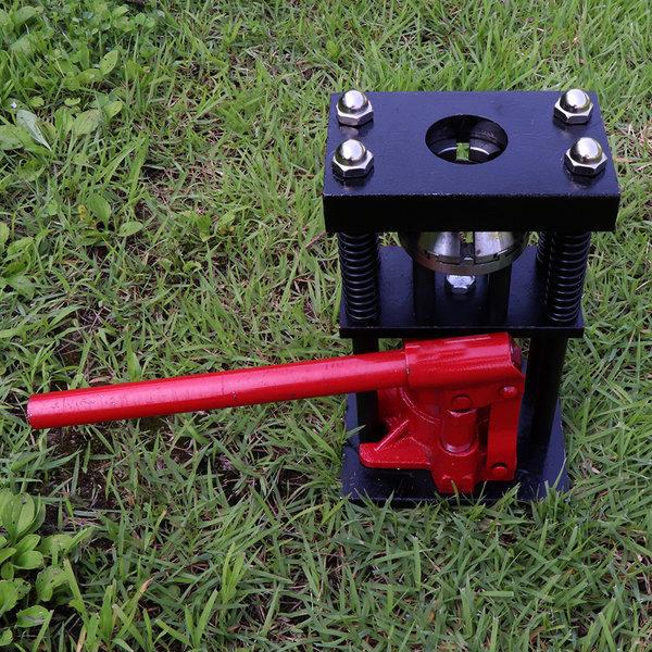 유압호스압착기 농업용 유압작기 수동 호스찍는기계