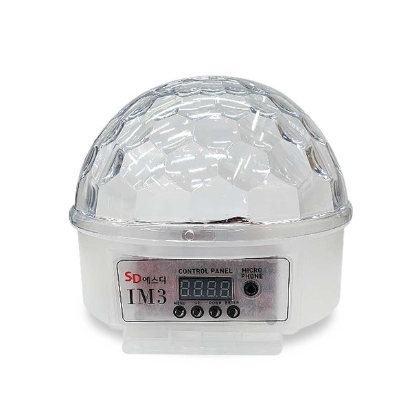 IM3 LED 미러볼 조명 / 밀러볼 노래방 파티 조명