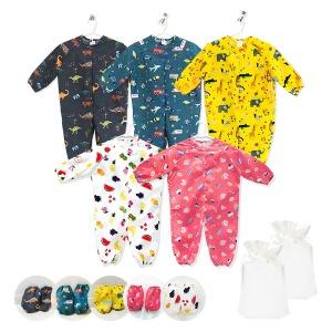 유아 아기 어린이집 전신 미술가운 어린이 앞치마