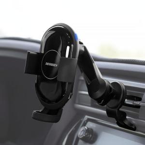 더쎈 차량용 핸드폰 스윙 고속 무선충전 거치대