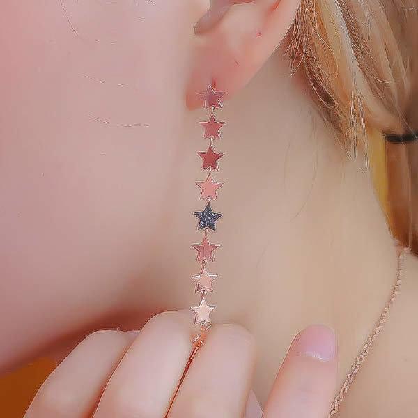 (현대Hmall) 체리쉬유 4.92g  18k 별을 그리다 귀걸이