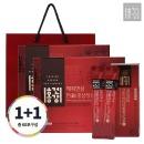홍건강 해피한삼 진 홍삼정 원데이스틱 1+1(30포2박스)