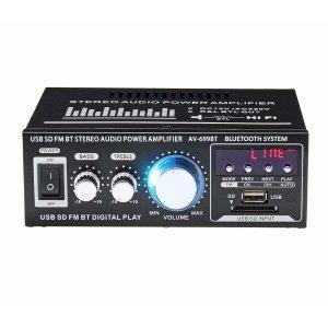 400 w 2 ch 블루투스 hifi  앰프 usb sd fm 라디오