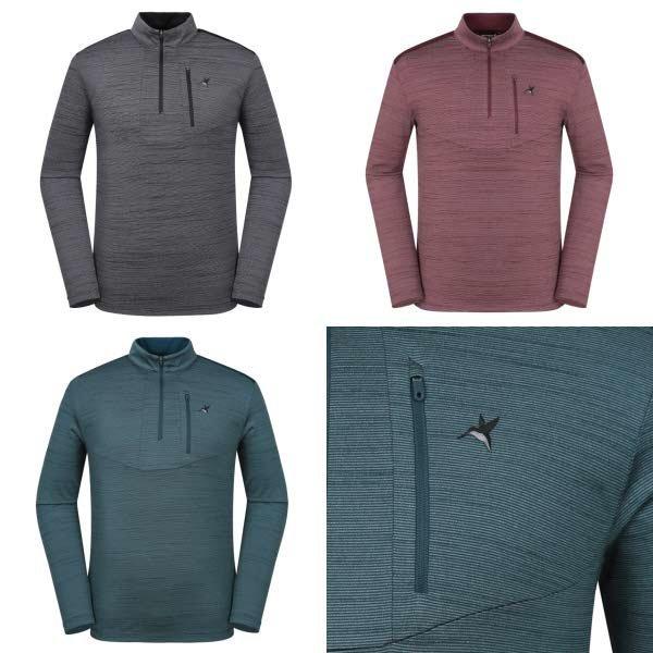 (현대백화점) 웨스트우드  남성 WJ3MTTS305 가을 신상품 3가지 색상 1택 익스트림 가슴포켓 집업 티셔츠
