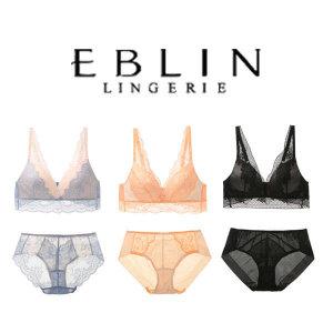 (현대백화점)에블린 세트  썸머판타지 메리메 노와이어 브라팬티세트 5종택1 (BR9A5H1Q外) EBLIN