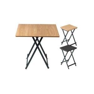 까사마루 접이식 테이블 세트