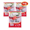 하림 IFF 닭가슴살 1kg 3봉 /냉동/개별동결