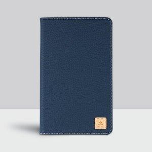 갤럭시 탭 A 8.0 with S Pen 천연가죽 네이비 케이스