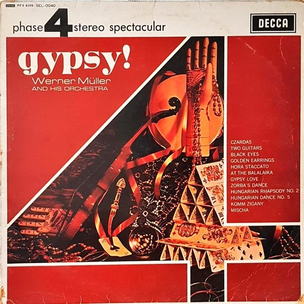 L4029- 클래식LP/ GYPSY (WERNER MULLER AND HIS ORCHESTRA)