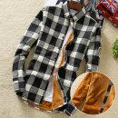 겨울 남자 남방 남성 셔츠 와이셔츠 체크 겨울 기모