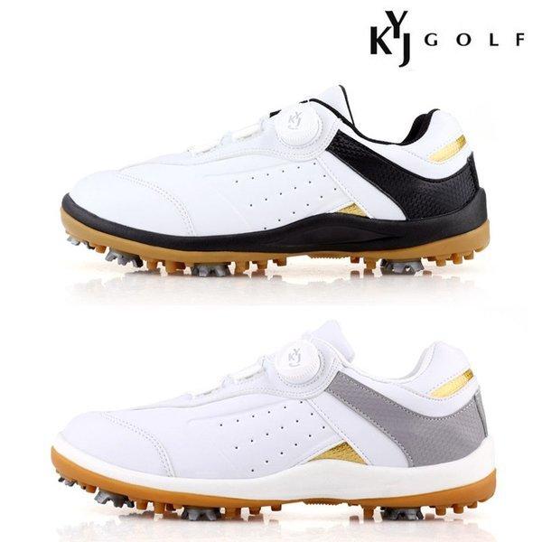 KYJ 노블 스파이크 남성용 골프화 골프연습용품 골프