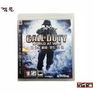 PS3 콜 오브 듀티 월드 앳 워 한글판 중고A급
