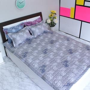 누빔패드 미끄럼방지 패드 침대패드 카펫