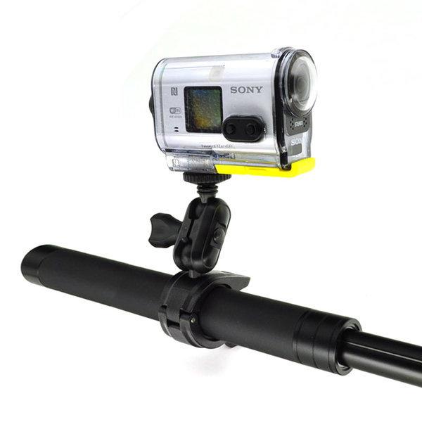 소니 액션캠 오토바이 핸들 폴 마운트 AS300V X3000