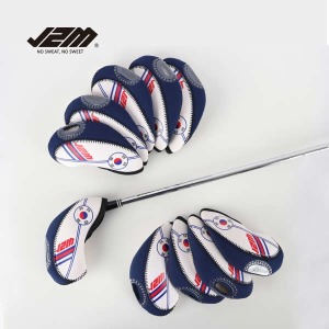 (현대Hmall)J2M 골프 투명창 태극기 아이언커버