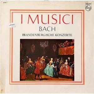 L4036- 독일 클래식LP/ BACH - I MUSICI  BRANDENBURGISCHE KONZERTE 음반 2장