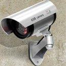 IR감시카메라 모형 카메라 방범용 가짜 CCTV 렌즈점멸
