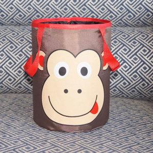 차량용 차량 자동차 차 쓰레기통 휴지통 수납함 원숭이