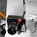 무선 감시 카메라 모형 방범용 CCTV 가짜 렌즈깜빡임