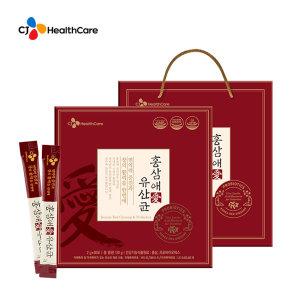 CJ헬스케어 6년 홍삼애 유산균 60포1세트 쇼핑백 무료
