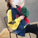 여성 후드티 맨투맨 티셔츠 루즈핏 간절기 프린트AK48