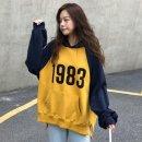 여성 후드티 맨투맨 티셔츠 루즈핏 간절기 프린트AK43